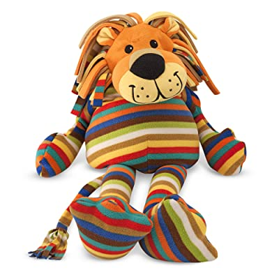 Melissa & Doug Elvis Lion - Patterned Pal Stuffed Animal: Melissa & Doug: Toys & Games