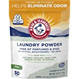 ARM & HAMMER Laundry Powder (50 Loads/1 Pack)—Fragrance-Free, Dye-Free Formula Made with Natural Baking Soda Helps…