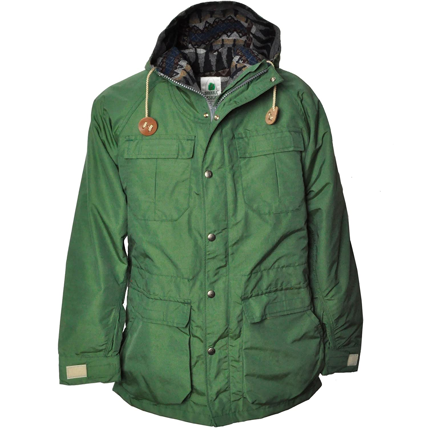 SIERRA DESIGNS (シエラデザインズ) PENDLETON LINED MOUNTAIN PARKA 7922 GREEN B01LPUN3BQ M