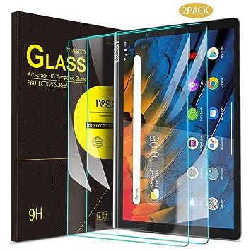 IVSO Templado Protector para Lenovo Yoga Smart Tab, Premium Cristal de Pantalla de Vidrio Templado para Lenovo Yoga Smart Tab 10.1 Pulgadas, 2 Pack