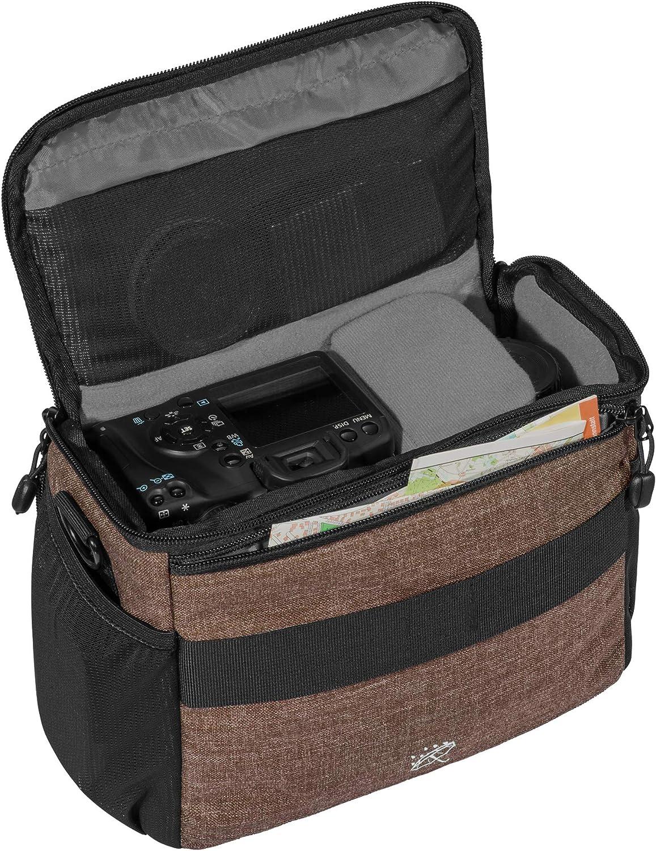 4000D Gris 1000D 750D 800D PEDEA SLR Sac /à dos photo avec protection d/écran pour Panasonic Lumix DMC-G2 // Pentax K-S2 // Ricoh GR II // Sony Alpha 68 // Canon EOS 6D Mark II 80D