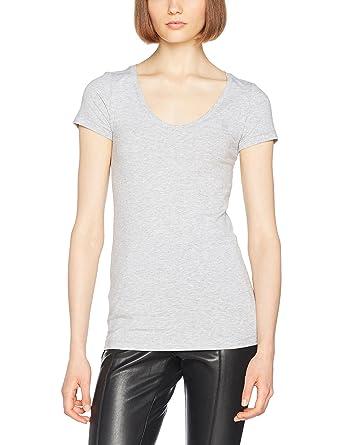 8aef1a4f15c112 G-STAR RAW Damen T-Shirt Base R T Wmn Cap SL  Amazon.de  Bekleidung
