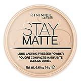 Rimmel Stay Matte Pressed Powder, 14 g - Peach Glow