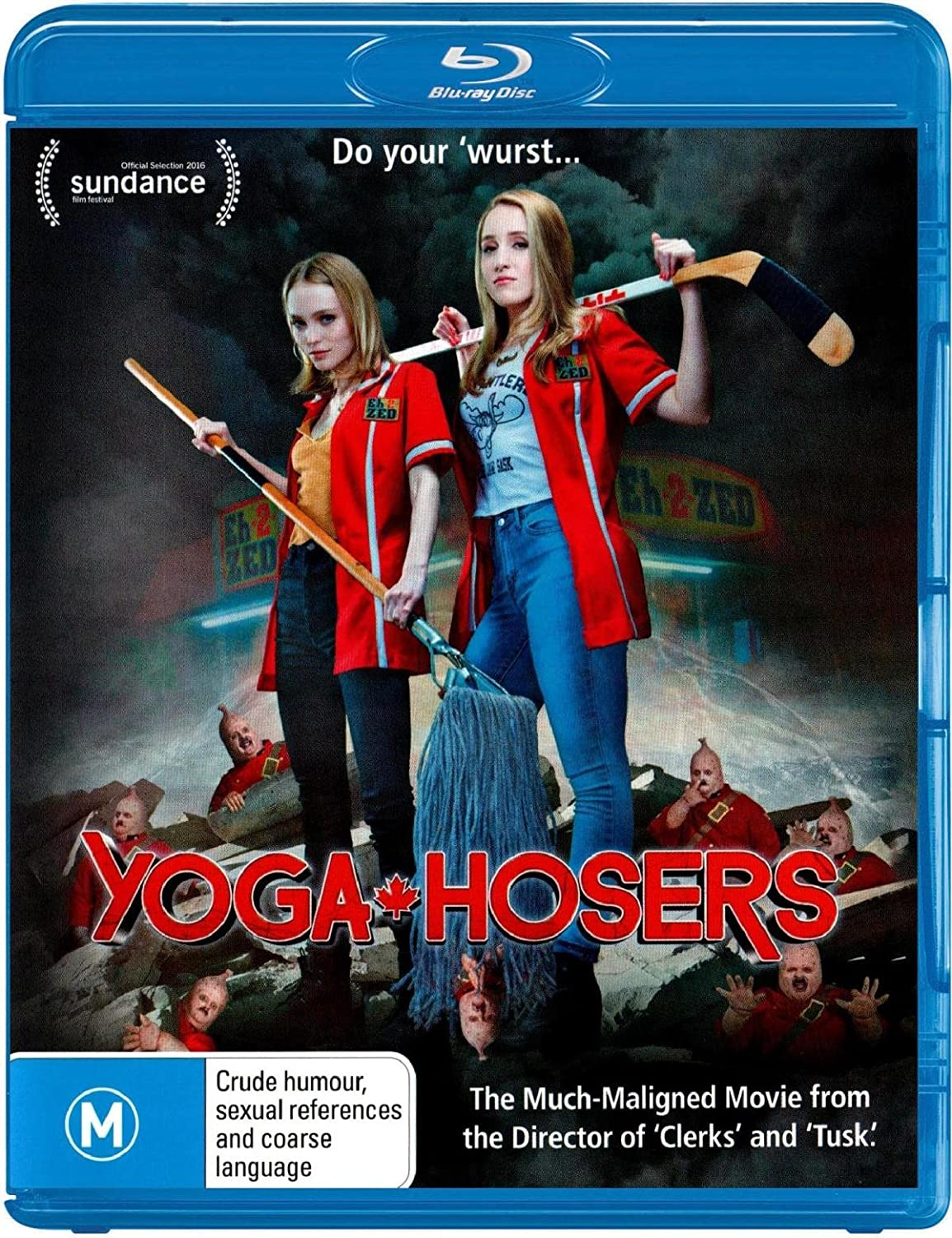 Amazon.com: Yoga Hosers | Lily-Rose Depp, Harley Quinn Smith ...