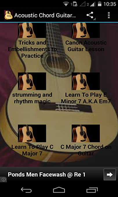canon chords acoustic guitar