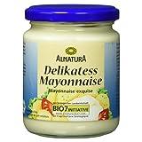 Alnatura Bio Delikatess Mayonnaise mit Ei, 250 ml
