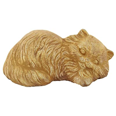 Laying Kitty Garden Statues Cats : Garden & Outdoor