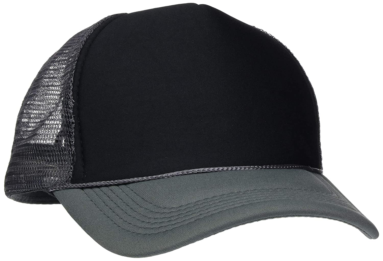 black//white MASTERDIS Baseball Cap Trucker high profile One Size