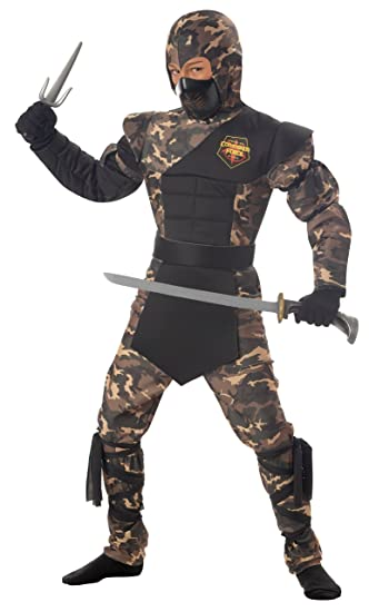 Special Ops Ninja Child Costume-Small  sc 1 st  Amazon.com & Amazon.com: California Costumes Toys Special Ops Ninja: Clothing