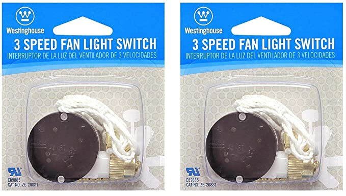Admirable Westinghouse Lighting 7702100 3 Speed Fan Switch Wiring Cloud Brecesaoduqqnet