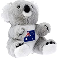 Elka Australia 60111-24EM Koala with Embroidery Soft Plush Toy, 24 Centimeters
