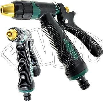 Pistola Riego ajustable Lux para tubo agua riego jardinería jardín ...