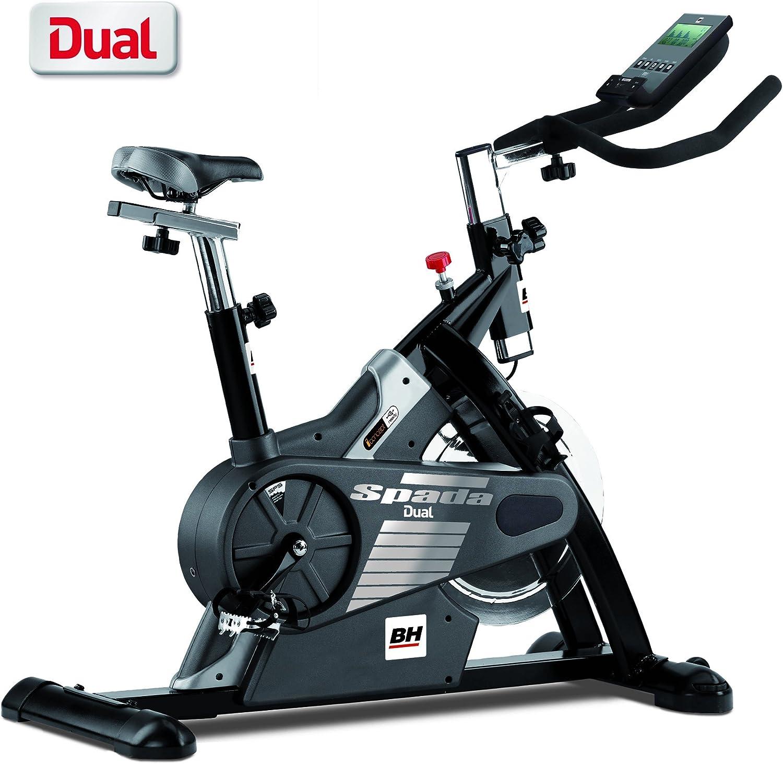 BH Fitness - Bicicleta Indoor Spada Dual: Amazon.es: Deportes y ...