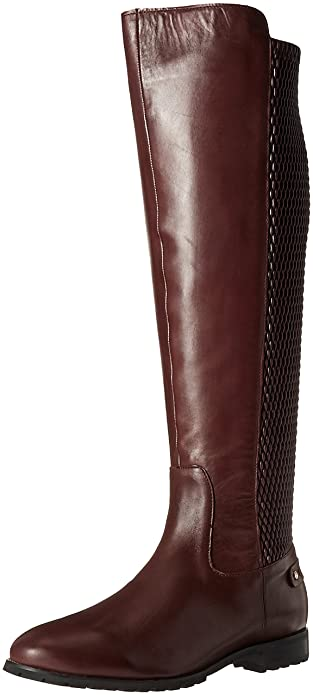 Sudini Women s Fabiana Riding Boot Burgundy 6 ... 71f8653f23