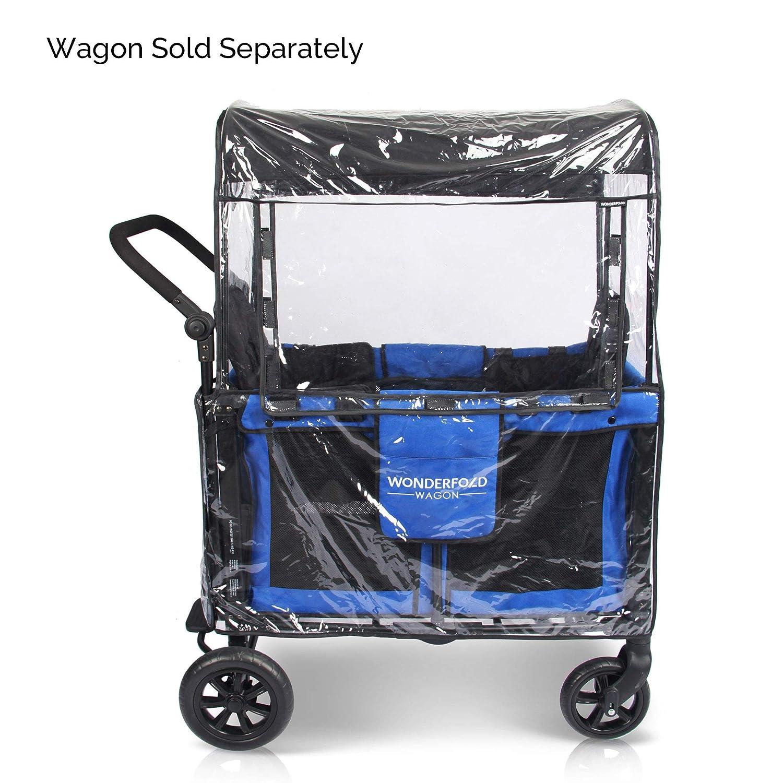 W2 WonderFold Wagon W Series Rain Cover with Entrance
