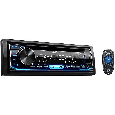 JVC KD-R690S CD Receiver Featuring Front USB/AUX Input/Pandora/SiriusXM Ready/Variable Illumination