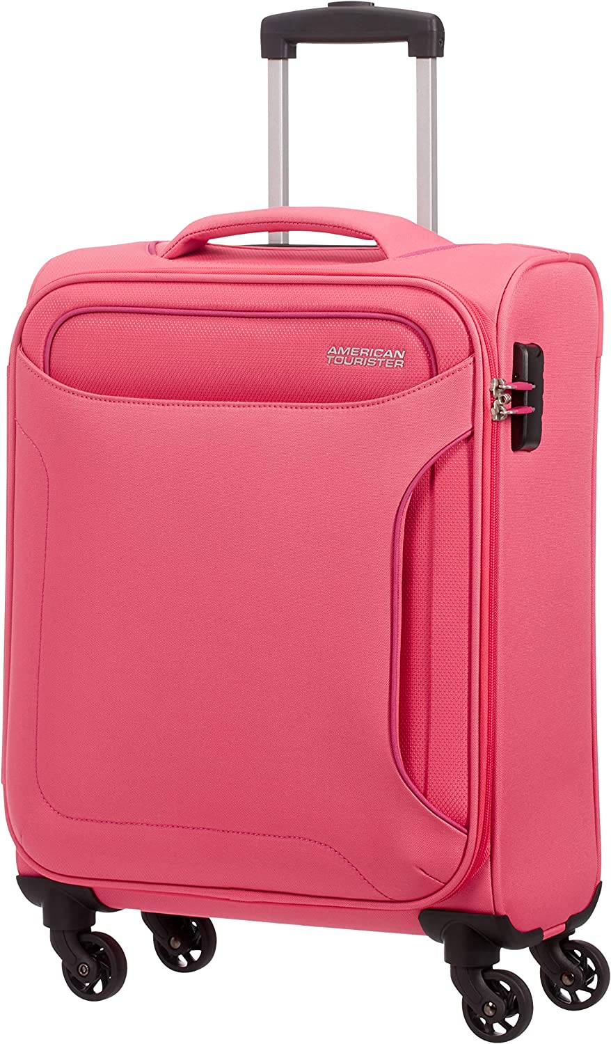 Bleu 55 cm Upright Bagage Cabine Navy 42 L American Tourister Holiday Heat