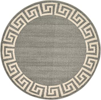 Amazon Com A2z Rug Modern Contemporary Area Rug Geometric Gray 6
