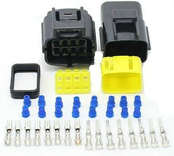 Amazon.com: Car Waterproof 8 Pin Electrical Wire Connector Plug AWG Car  Motorcycle Marine: AutomotiveAmazon.com