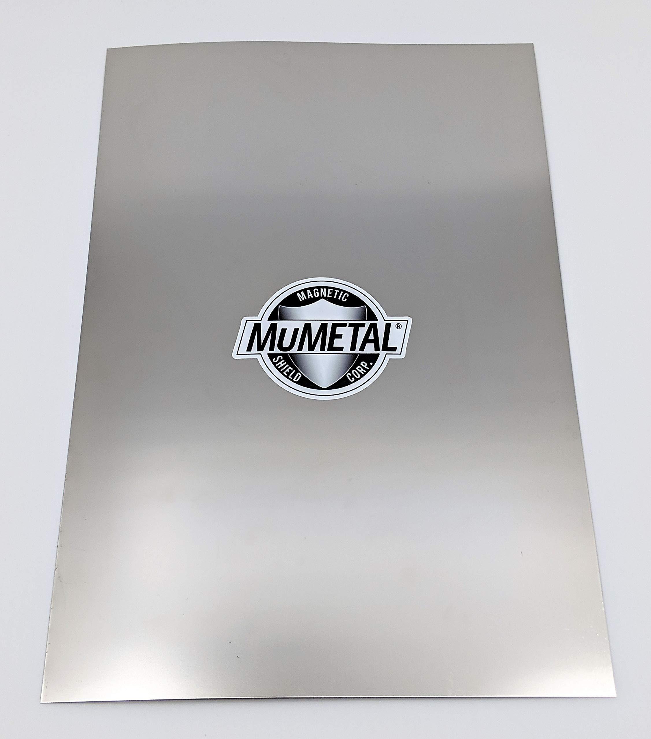 "MuMETAL Magnetic Shielding Foil .012"" Thick 8"" x 12"" Sheet"