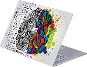 MasiBloom Top Side Laptop Sticker Decal for 13