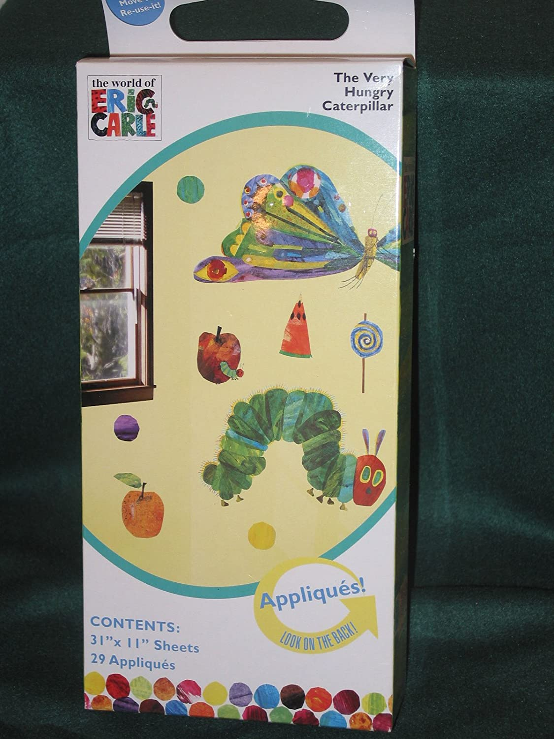 Amazon.com: Eric Carle the Very Hungry Caterpillar Wall Appliques ...