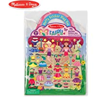 Melissa & Doug Puffy Sticker Activity Book: Fairy - 75 Reusable Stickers