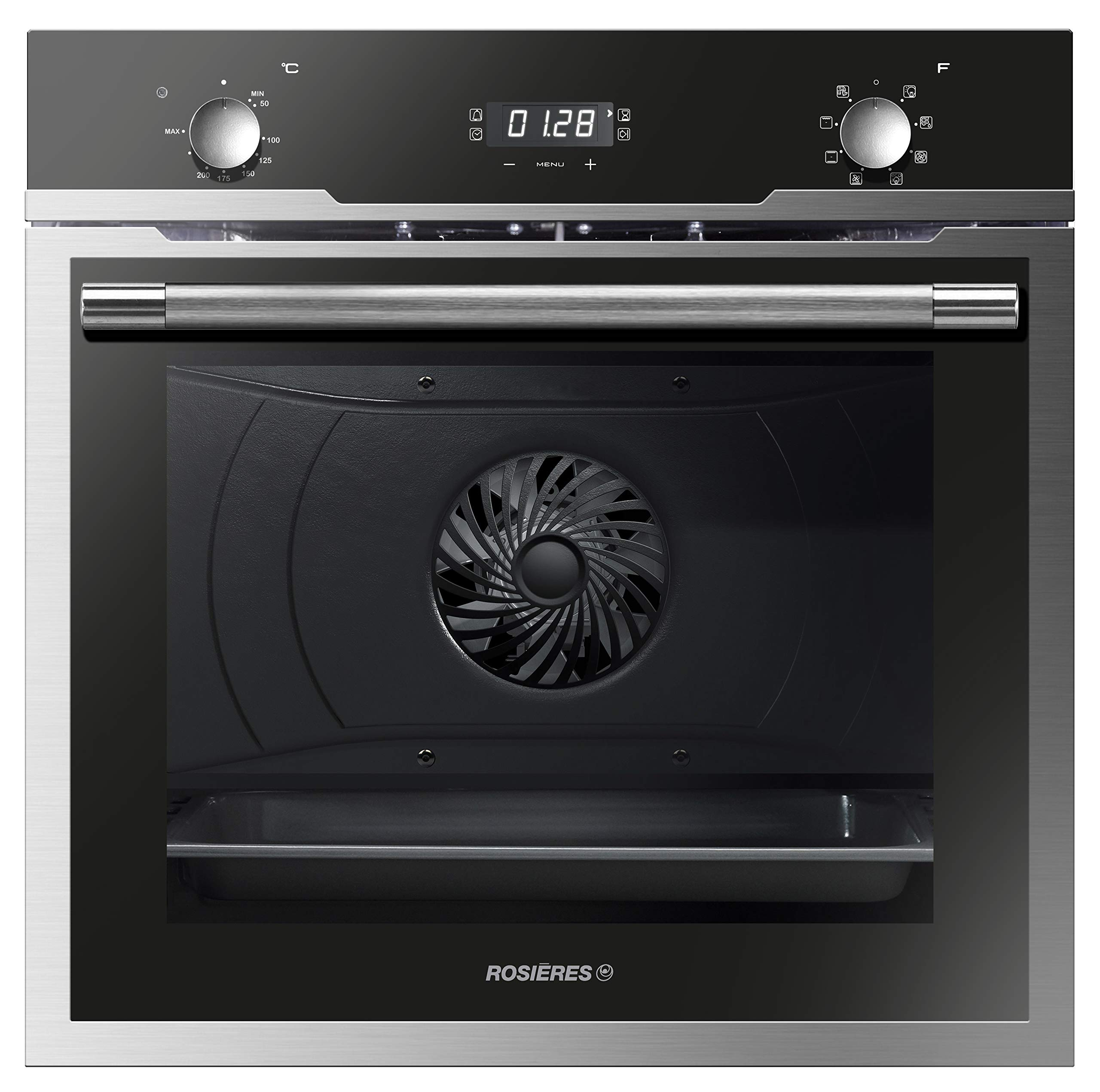 Stainless steel built-in-oven 68 L ROSIERES by ROSIERES