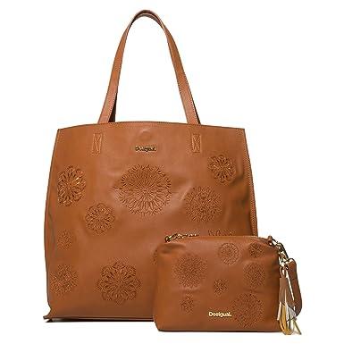 Desigual - BOLSO ABBY NEIVA Mujer color: 6009 talla: T UNICA: Amazon.es: Ropa y accesorios