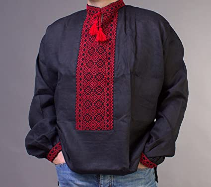 Rushnichok Vyshyvanka - Camisa Bordada para Hombre - Camisa ...