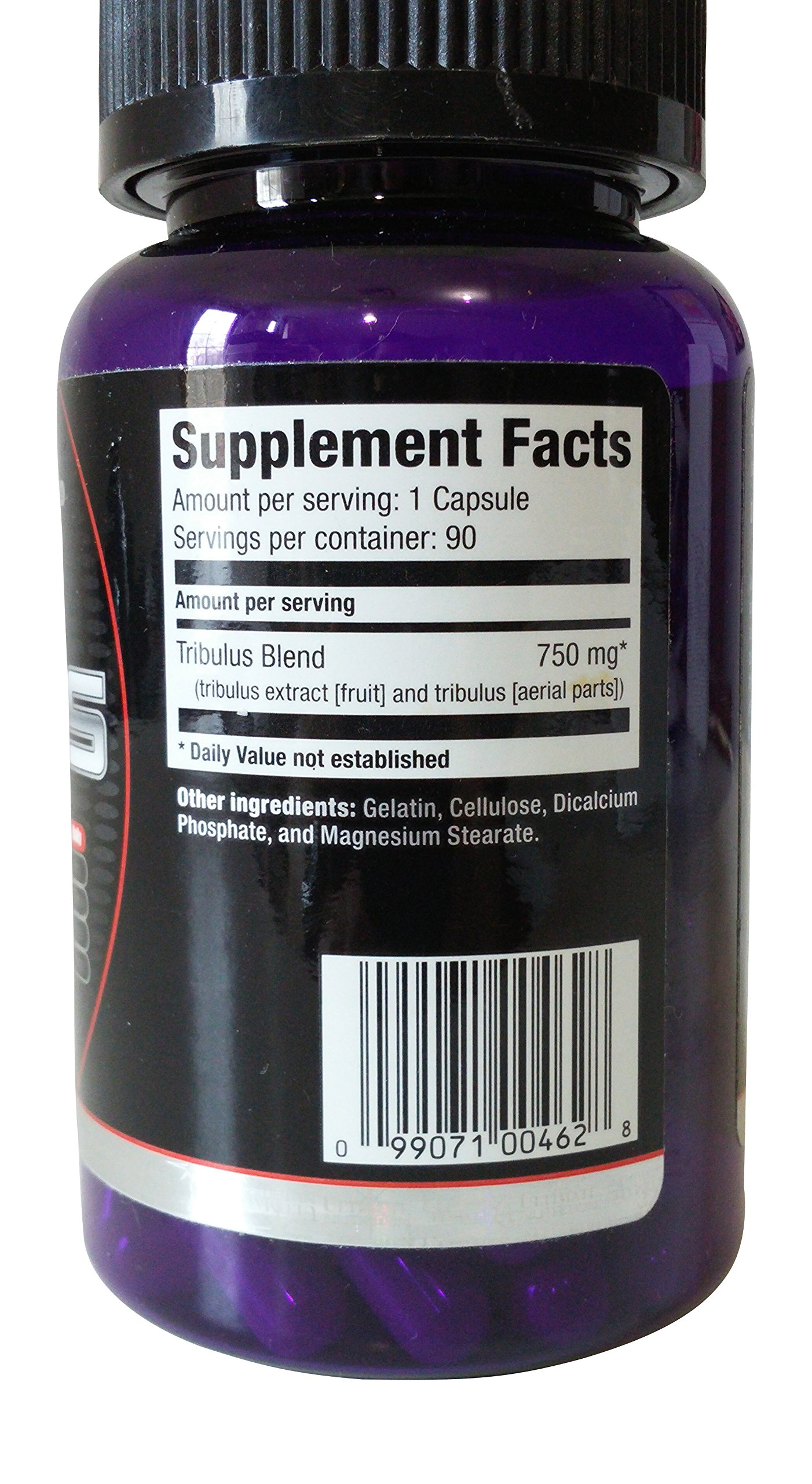 Ultimate Nutrition - Platinum Series Bulgarian Tribulus 750 mg. - 90 Capsules (Pack of 2)