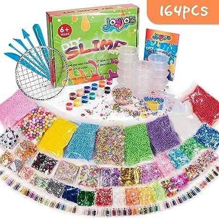 Joyjoz 164 Pcs Slime Kit,Slime Herramientas para artesanía de ...