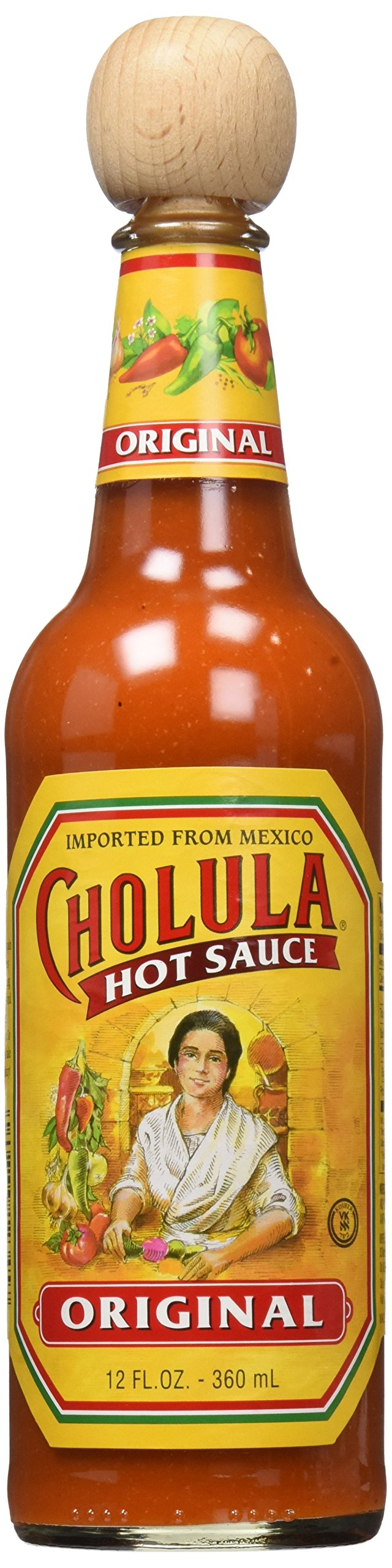 Cholula Original Hot Sauce 12 Oz (Pack of 2)