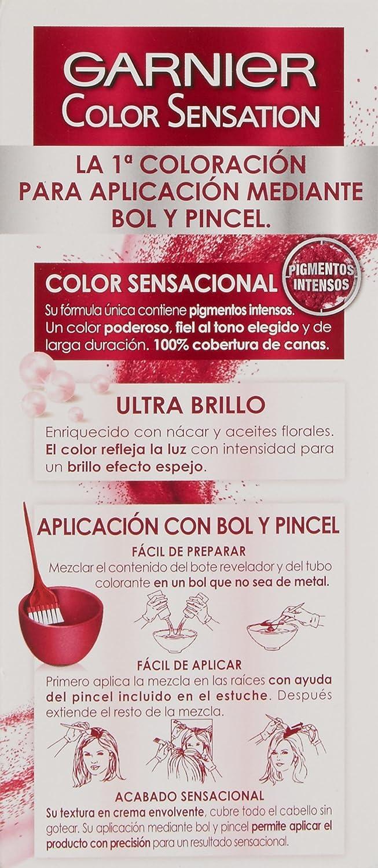 Coloración Color Sensation nº6.60 Rojo Intenso de Garnier: Amazon.es: Belleza