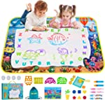 Obuby Water Magic Drawing Mat Kids 47x35 Inches Doodle Gifts Color