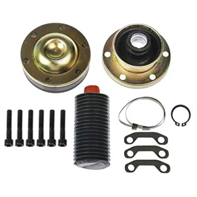 APDTY 043414 Driveshaft Propeller Shaft CV Joint Kit Fits Front Drive-Shaft Transfer-Case Side: Automotive