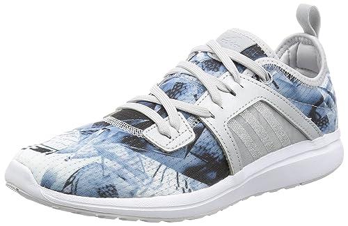 de MujerAzulAzul Running Zapatillas de Lona Adidas Nnmv0w8