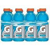 Gatorade Sports Drink, Cool Blue, 20 oz, 8 ct