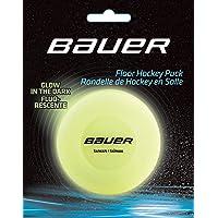 Bauer Hockey Floor Puck Glow in the Dark