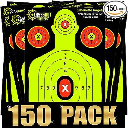50 Bullseye Target  Stickers Neon  Repair Stickers Bow Hunting  Shooting Scope