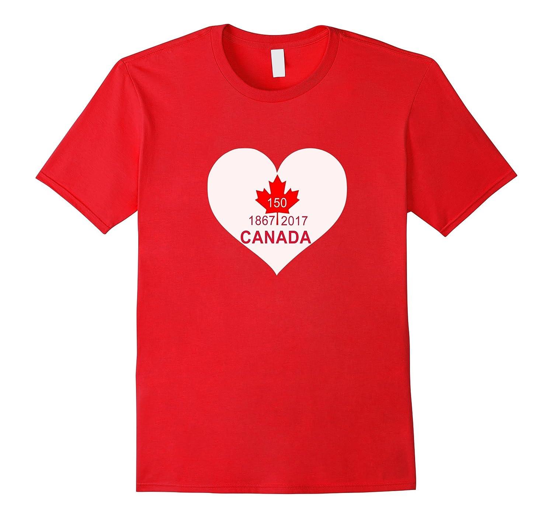 Canada day 2017 - 150 years birthday Tshirt-FL