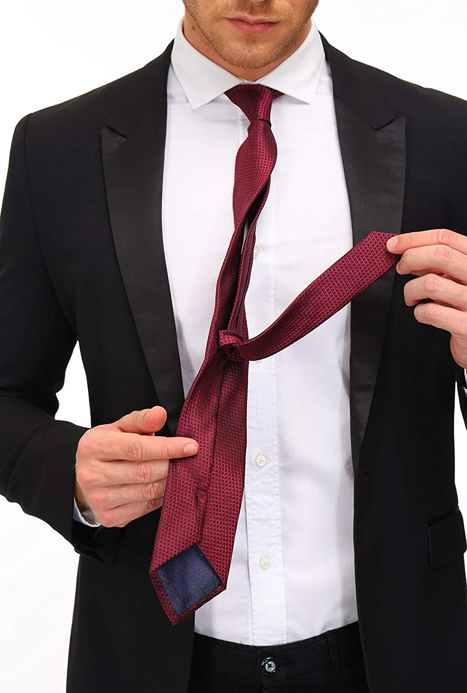 12 PCS Adulove Men/'s Necktie Classic Silk Tie Woven Jacquard Neck Ties 6//9