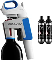 Coravin Model One Advanced Wine Bottle Opener and Preservation System, Includes, 2 Argon Capsules