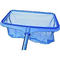 Steinbach - Limpiador para suelo de piscina con marco de plástico reforzado, para poste telescópico, azul, 515x235x410…