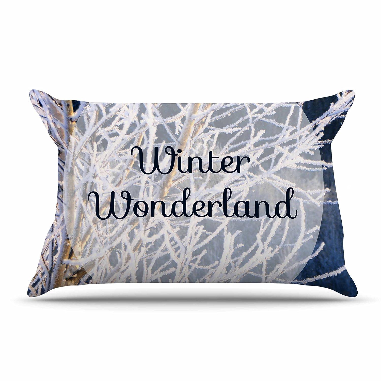 30 X 20 Kess InHouse NL Designs Winter Wonderland Featherweight Sham