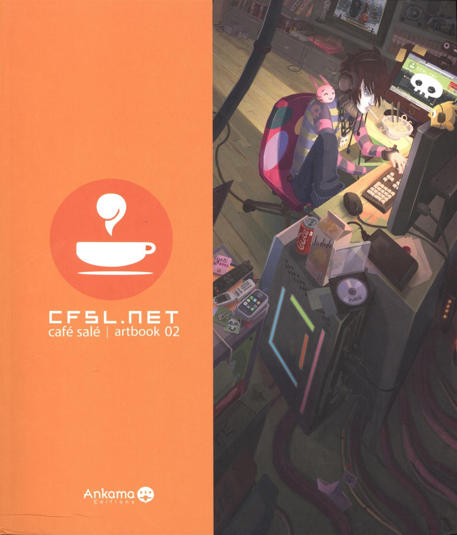 Artbook CFSL .Net Vol. 2 Broché – 3 juillet 2008 Ankama Editions 2916739416 VI-2916739416 Manga