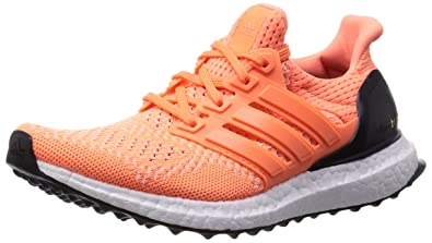 low priced 02eac 2ad3c Image Unavailable. Image not available for. Colour Adidas Womens Ultra  Boost - UK 7.5, FLASH ORANGE