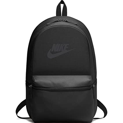 Nike Heritage Black 26L Laptop Backpack (BA5749-010)  Nike  Amazon.in   Sports 7bb3c138879c