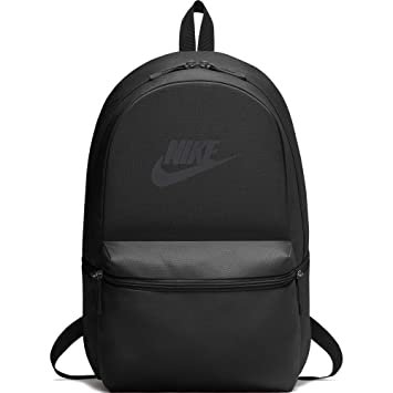 ef3ef92db063 Nike Heritage Black 26L Laptop Backpack (BA5749-010)  Nike  Amazon.in  Bags