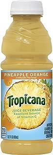 product image for Tropicana Pineapple Orange Juice Drink, 15.2 fl oz Bottles, (Pack of 12)